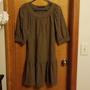 Zara Basic 70% Wool Dress Size Small
